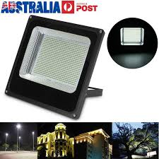 200w bright white led flood light outdoor garden security floodlight ip66 240v