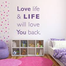 stand principle quote wall decal. Love Life Quote Wall Decal Stand Principle L
