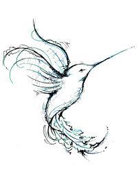 все изображения эскиз тату колибри Heliographru