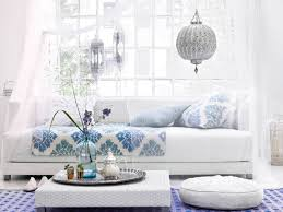 moroccan interior design ideas. this white, blue, and silver ensemble both have the beautiful moroccan appeal light relaxing atmosphere of cotton whites. interior design ideas