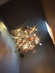 photo of elaia saint louis mo united states chandelier with utensils