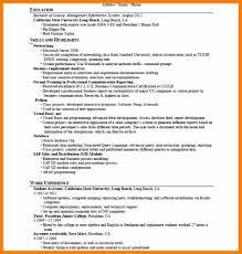 7 Resume Skill Examples List Prefix Chart