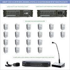 Notel HBP 103 Bölgesel Anons Ses Sistemi Paketi