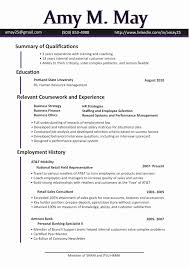 Recruiter Resume Sample New Recruiter Resume Simple Resume Format