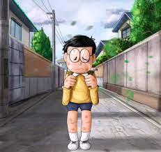 Hình ảnh Nobita hậu đậu cực chất, buồn khóc cô đơn và đẹp nhất