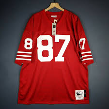 Ness Mitchell 49ers Dwight 2xl Size amp; Jersey Mens 81 Clark Nfl Authentic 52 100