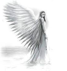 Angel Sketch Angel Drawing Back Piece In 2019 Angel Drawing Angel