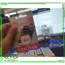 Giá bán Thẻ Nhớ Microsd Sandisk Ultra 80Mb/S 32Gb - Chính Hãng