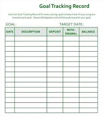 Online Fundraising Thermometer Template Goal Tracker Savings