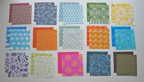 100 Days – Week of Prints – Altering Print Fabrics With Bleach ... & Happily ... Adamdwight.com