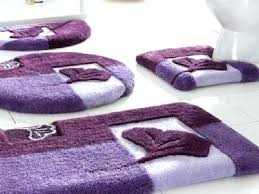 purple and yellow area rug bath rugs gray bathroom grey photo 4 of 9 lavender home design ideas set with round dark towels