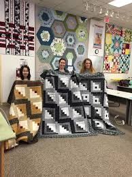 Quilt Sampler - Tulsa, Oklahoma - Arts & Crafts Store | Facebook & '3 quilts finished in Quilting 101 today. I'm so proud of these Adamdwight.com