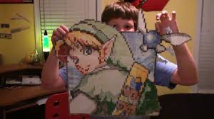 Crazy Zelda Graph Paper Characters Jacobs Made