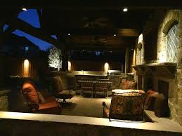 dallas landscape lighting installs fence patio lighting as well as outdoor living s like fans