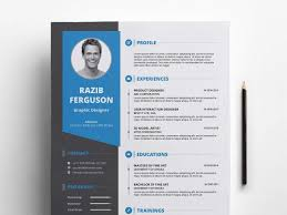 Fre Cv Templates Free Resume Cv Templates In Photohsp Psd Format 2019