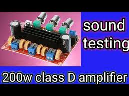 <b>audio amplifier board</b> testing || xcluma <b>TPA3116</b> 2. 1 Channel ...