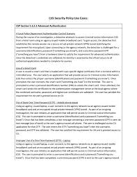 cjis security policy use cases fbi