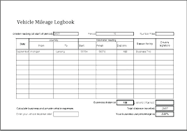 Vehicle Log Book Template Expense Log Template Excel Car Log Book Template Free Travel