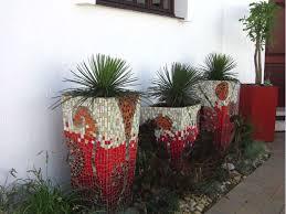 mosaic pots various sizes