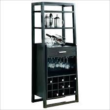 pottery barn bakers rack wine racks with glass storage bar dining howards world ra