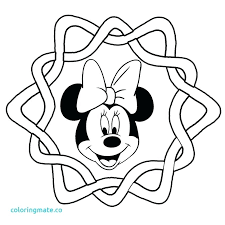 Minnie Mouse Birthday Coloring Pages Birthday Party Coloring Page