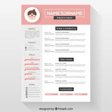 Resume Template Free Simple And Clean Resume Free Psd Template