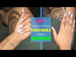 diy easy long lasting nails w super