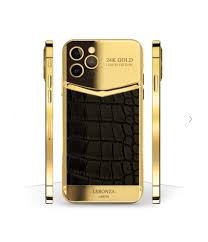New Luxury 24k Gold iPhone 12 Pro and Pro Max Victory Exotic Edition -  Leronza
