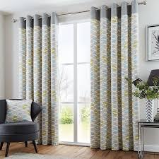 copeland ready made eyelet lined curtains
