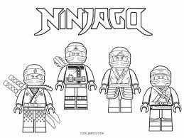Ninjago Coloring Pages for Kids (Page 4) - Line.17QQ.com