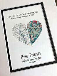 diy gifts for friends fresh best friend going away gift personalized gifts for of diy