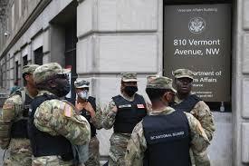 National Guard troops in Washington DC ...