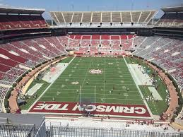 Alabama Football Stadium Seat Chart Bryant Denny Stadium Section Ss7 Rateyourseats Com