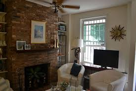 painting brick whitePainted Brick Fireplace White  Hometalk