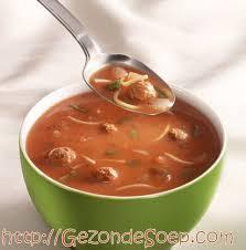 Gezonde soep weinig calorieen recepten
