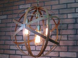 image of large orb chandelier lighting