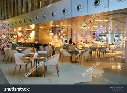 DOHA, QATAR - CIRCA MAY, 2017: IN-Q Cafe at Hamad International