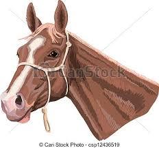 horse head clip art color. Unique Color On Horse Head Clip Art Color D
