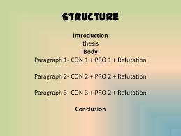 how to write and argumentative essay