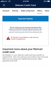 Activate your new credit card when it arrives to start earning rewards. New Walmart Credit Partner Capital One Page 23 Myfico Forums 5402339
