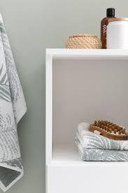 Möbel Möbel Wohnen Finebuy Badezimmerschrank Weiß 98cm Fb52298