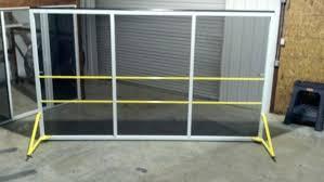 diy sliding garage door screens large size of garage door screens the villages fl cost screen