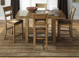 dining room table and chairs with wheels. ashley dining table | cherry kitchen nook furniture room and chairs with wheels