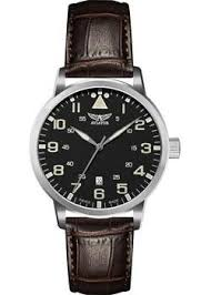 <b>Часы Aviator V</b>.1.11.0.037.4 - купить <b>мужские</b> наручные часы <b>в</b> ...