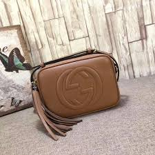 gucci 308364. gucci soho leather disco bag light brown 308364