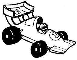 race car clipart black and white. Race Car Black And White Clipart Inside