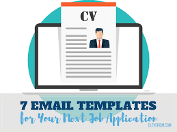 Skills Relevant To The Position S You Are Applying For 7 Email Templates For Your Next Job Application Loved By