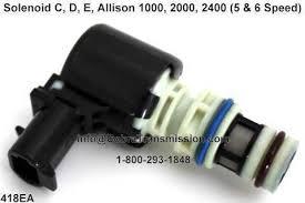 solenoid, sensor , cobra transmission 2000 Series Allison Transmission Diagram d74418ea, solenoid c, d, e, allison 1000, 2000, 2400 (5 & Allison 2000 Transmission Parts Breakdown