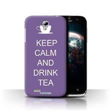 Cover for Lenovo A859/Drink Tea/Purple ...