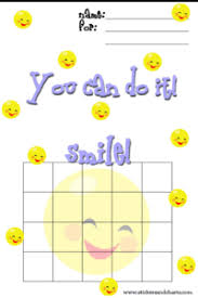 Smiley Face Behavior Charts For Preschoolers